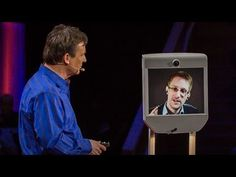 """Appearing by telepresence robot, Edward Snowden speaks at TED2014 about surveillance and Internet freedom. The right to data privacy, he suggests, is not a partisan issue, but requires a fundamental rethink of the role of the internet in our lives — and the laws that protect it. """"Your rights matter,"""" he say, """"because you never know when you're going to need them.""""  http://mrmck.wordpress.com/2014/07/17/heres-how-we-take-back-the-internet-a-recent-interview-with-edward-snowden-video-3517/"""