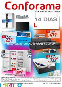 """Promoções Conforama - Antevisão Folheto """"Dias Loucos"""" 11 a 25 agosto - http://parapoupar.com/promoes-conforama-anteviso-folheto-dias-loucos-11-a-25-agosto/"""