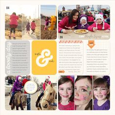 Sheri Mae Designs: project life 2013 | week fourteen
