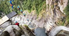 Daredevil sets new world record with 193-foot cliff jump http://huff.to/1NnopK9