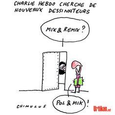Clin d'œil à nos confrères de Charlie Hebdo - Dessin du jour - Urtikan.net