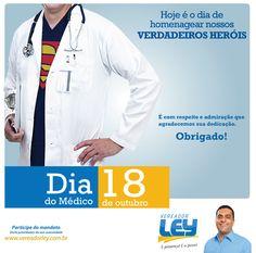 Homenagem dia dos médicos - Vereador Ley