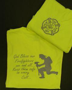 Firefighter Prayer TShirt