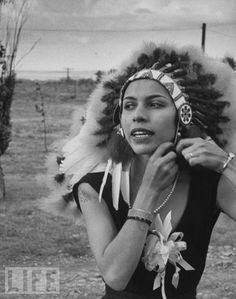 "Elizabeth Marie Tall Chief was the considered America's first major prima ballerina, and was the first person of Native American descent to hold the rank. Also a wife of Balanchine, who choreographed Stravinsky's ""Firebird"" and many other roles for her."