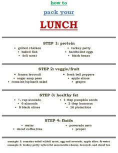 How to...pack your lunch! | WeightWise Bariatric Program