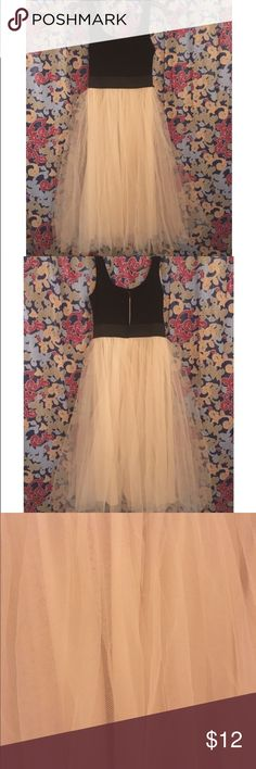 🕶Beauty to Behold🕶 Beautiful black and ivory dress. Can dress it up or down with a pair of heels or some cute combat boots or sneaks! Brand new-without tags. Never worn...just tried on. NO TRY ONS. Thanks!😘 Rue21 Dresses