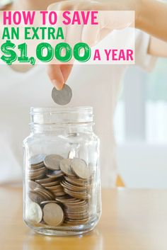 How To Save An Extra $1000 A Year