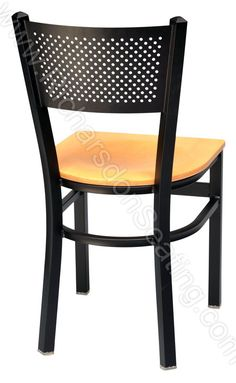 Metal Dining Chairs   Mesh Back Metal Chairs   Restaurant Chairs- i like these for dining chairs. with a mahogany seat.