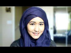 Criss Cross Layered Hijab Style