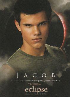 Twilight saga Eclipse trading card Jacob, 4