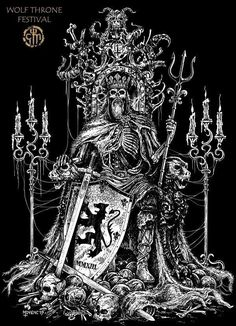 This store created for those person who love vikings. And if you are a viking lover then you can make order for a viking t shirt. Fantasy Kunst, Dark Fantasy Art, Art And Illustration, Avatar The Last Airbender Art, Satanic Art, Dark Artwork, Macabre Art, Occult Art, Desenho Tattoo