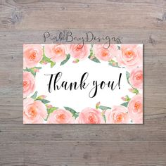 Hey, I found this really awesome Etsy listing at https://www.etsy.com/listing/511175179/blush-floral-thank-you-card-instant