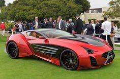 Laraki Motorsの「Epitome」と呼ばれるコンセプトカーに遭遇したのは、カリフォルニア州で開催されたペブルビーチ・コンクール・デレガンスでのこと。数々のクラシックカーやスーパーカーが並ぶ