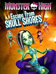 Monster High Escape from Skull Shores - 2012 Enter the vision for. Animation Type and Films Original is name Monster High Escape from Skull Shores. Free Cartoon Movies, Cartoon Online, Free Cartoons, Laura Bailey, Crane, Personajes Monster High, Watch Free Movies Online, Popular Tv Series, Watch Cartoons