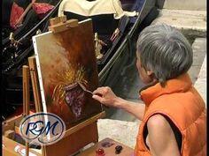 Oil Portrait Painting (Lincoln) Polarizing Demo by Jon Houglum, Franklin, NC Video #3 - YouTube