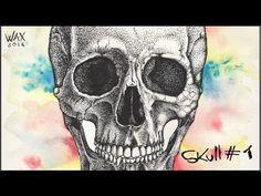 Skull #1 Speed Drawing