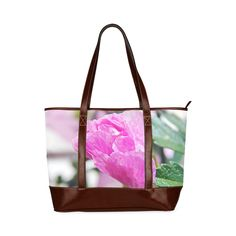 Musk Mallow Tote Handbag (Model 1642)