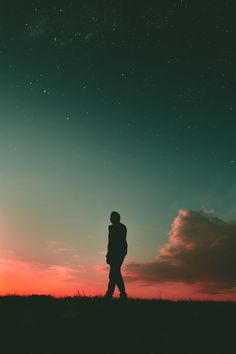 Silhouette of man during sunset Person Silhouette, Free Silhouette, Sky Walk, Silhouette Pictures, Silhouette Photography, Sunset Wallpaper, Wallpaper Wallpapers, Galaxy Wallpaper, Iphone Wallpaper