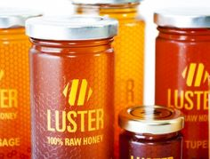 Luster™ Honey Package Design by Designer Jake