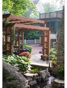 outdoors design idea - Home and Garden Design Ideas