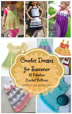 Crochet Finds - Crochet Dresses for Summer   Pattern Paradise