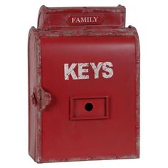 I pinned this Family Key Box from the Oak Studios event at Joss and Main!