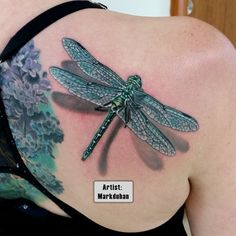 Best Dragonfly Tattoos in the World, Dragonfly Tattoos in the World, Best…