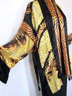New INCREDIBLE Carter Smith Shibori Kimono Jacket OS Large Black Yellow Silk Kimono Jacket, Kimono Top, Carter Smith, Shibori, Black N Yellow, Large Black, Wearable Art, Passion, The Incredibles