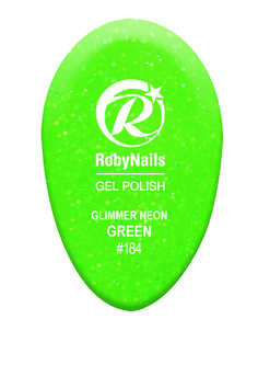 Robynails Glimmer Neon Green: dedicated to the woman who xpresses her eternal youth with a fashionable