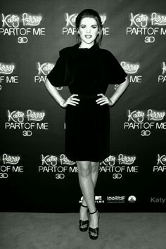 Emma at the Katy Perry: Part of Me 3D Premiere.