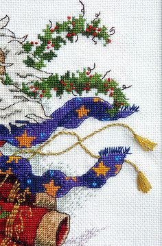 Christmas Cross Stitch   by twiddletails