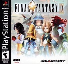 Final Fantasy 9 IX - PS1 PS2  Playstation Game Complete