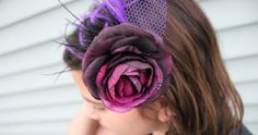 Making a stunning hair piece or fascinator isn't as complicated as you might think. With the Kentucky Derby right around the corner (also k...