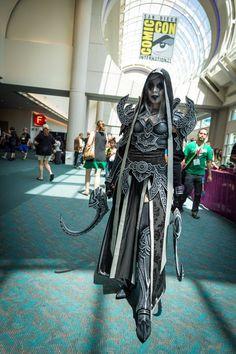 Diablo 3: Malthiel by Kamui Cosplay - #SDCC San Diego Comic Con 2014