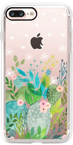 Casetify iPhone 7 Plus Classic Grip Case - Cute Foliage by Li Zamperini Art #Casetify