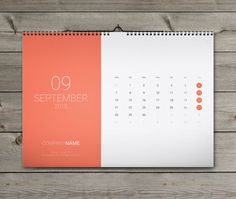 Monthly wall calendar template Calendar 2015 Starting from SUNDAY / MONDAY. You can use this Calendar Any type of Business, for