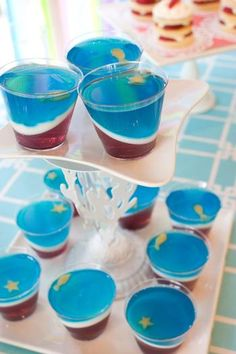 Under the Sea Jello Cups