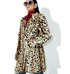 Wild Ones Leopard Coat