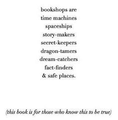 The Bookshop Book by Jen Campbell | 26 Of The Greatest Book Dedications You Will Ever Read
