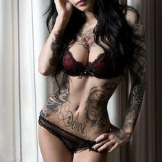 love the side/rib pieces  #motivation #tattoos #brunette