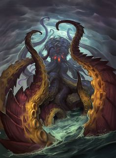 Card Name: N'Zoth, the Corruptor Artist: Tyson Murphy