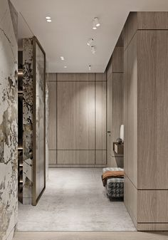Magnificent Modern Marble Interior With Metallic Accents - Magnificent Modern Marble Interior With Metallic Accents - pinupi love to share Marble Interior, Modern Interior, Interior Architecture, Modern Decor, Luxury Home Decor, Luxury Homes, Large Bathroom Design, Small Luxury Bathrooms, Wall Design