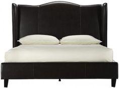 Venice Wing Headboard Queen Bed from Home Decorators