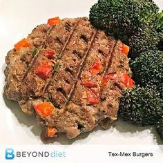 Tex-Mex Burgers - Th