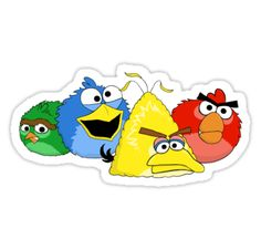 Sesame Street Angry Birds