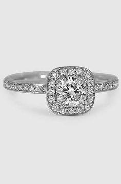 18K White Gold Adore Diamond Ring