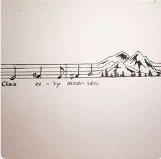 Musik humor, drawings of music, art of music, easy drawings of love, music Mountain Sketch, Music Drawings, Easy Drawings, Inspirational Music, Music Tattoos, Sheet Music Tattoo, Tatoos, Music Notes, Music Music