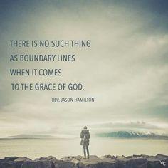 God's grace has no boundaries