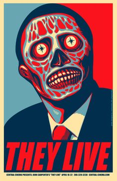 They Live Archives - Home of the Alternative Movie Poster -AMP-