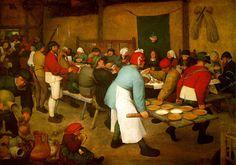 Pieter Brugel the Elder - Peasant Wedding (c. 1568)
